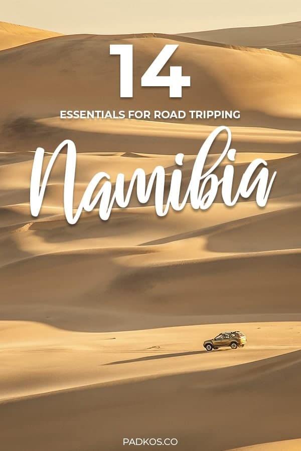 14 Essential Items for a Namibian Road Trip