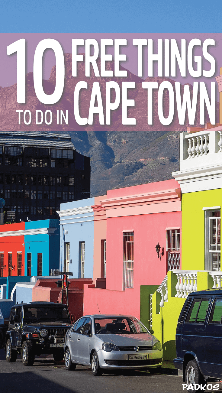 Top 10 Free Things to do in Cape Town