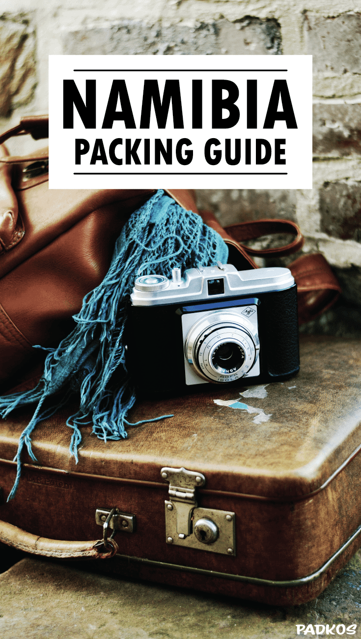 The Ultimate guide to packing light for Namibia