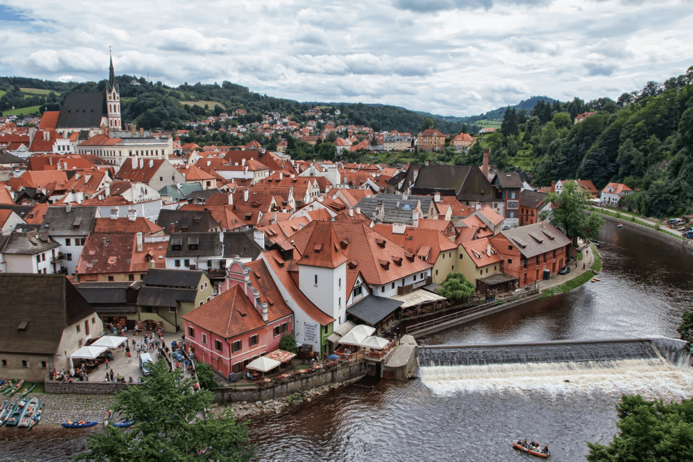 The Best Lesser-Known Bucket List Destinations in Europe - Cesky Krumlov - Padkos.co