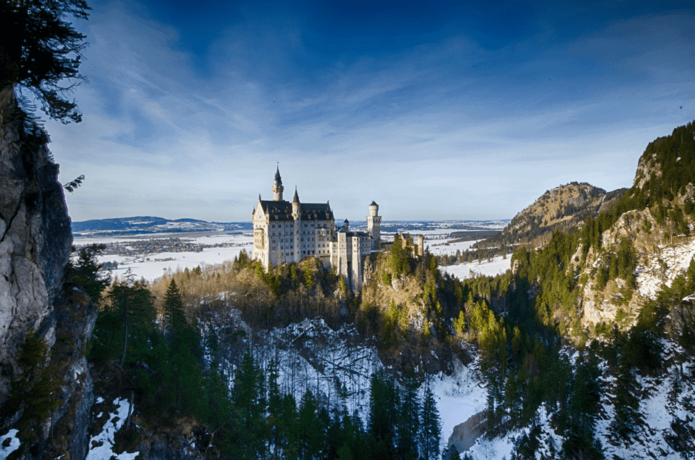 Neuschwanstein Castle in Germany - The best things to do in Germany during the Winter