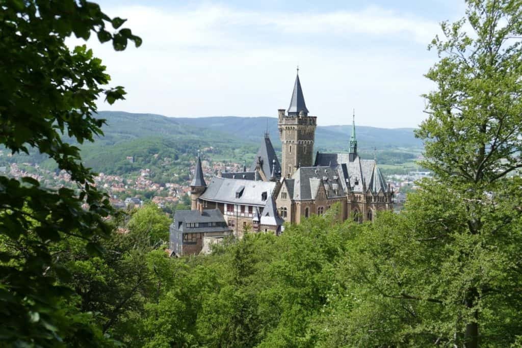 Wernigerode Castle, Harz Mountains, Germany