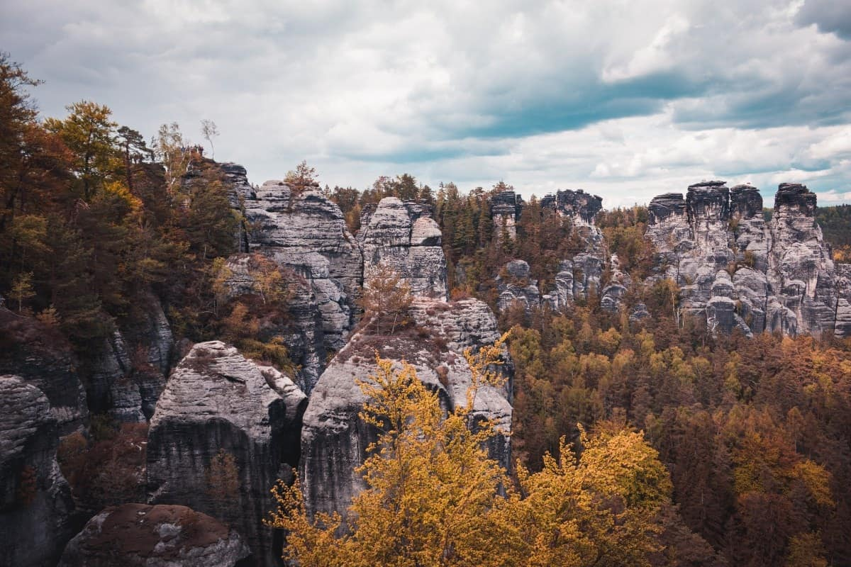 Bohemian Switzerland one of the best places to visit in the Czech Republic for Nature Lovers