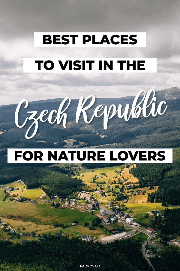 best places to visit in the Czech Republic for Nature Lovers