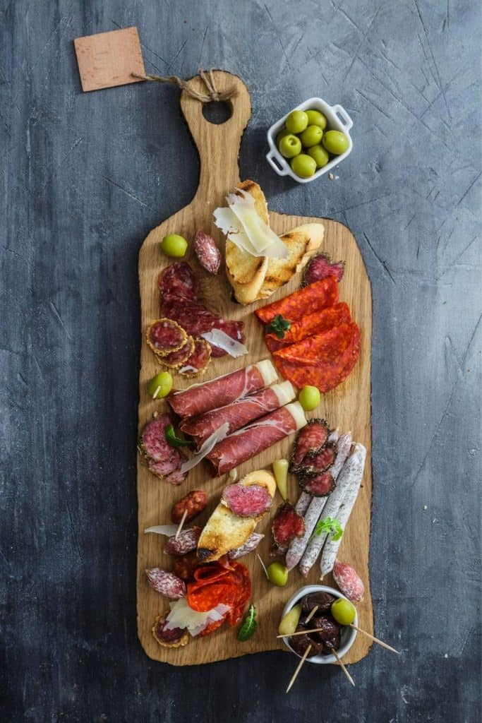 Catalan Cold Meat Platter