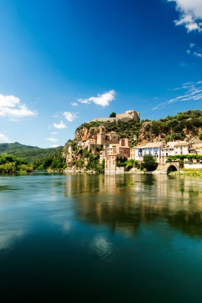 Places to visit in Catalonia - Miravet, Spain